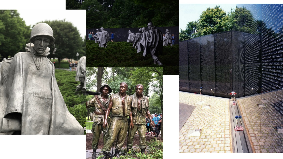 Korean & Vietnam Memorial